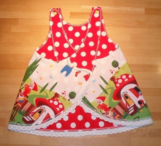Makerist - Wende-Schürzen-Kleid für Zwerginnen ;o) - Nähprojekte - 2