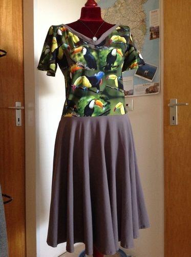 Makerist - Kleid Suzan mit Glockenärmel - Nähprojekte - 1