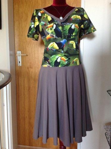 Makerist - Kleid Suzan mit Glockenärmel - Nähprojekte - 2