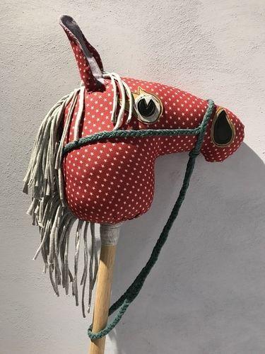 Makerist - Steckenpferd aus buntem Jeansstoff bzw. Cord und Jersey  - Nähprojekte - 1