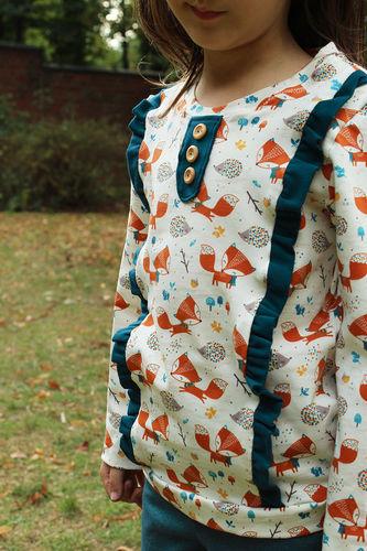 "Makerist - Shirt ""Filippa"" aus Fuchsstoff - Nähprojekte - 1"
