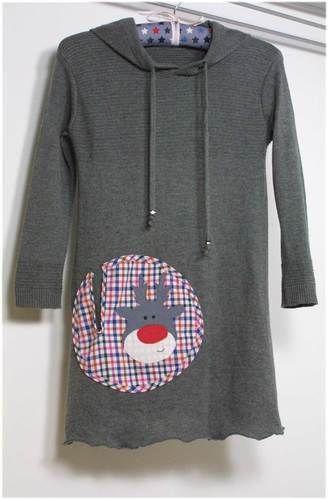 Makerist - Upcycling Pullover zu Kleidchen - Nähprojekte - 1