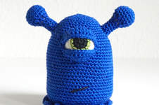 Makerist - Bob das blaue Monster  - 1