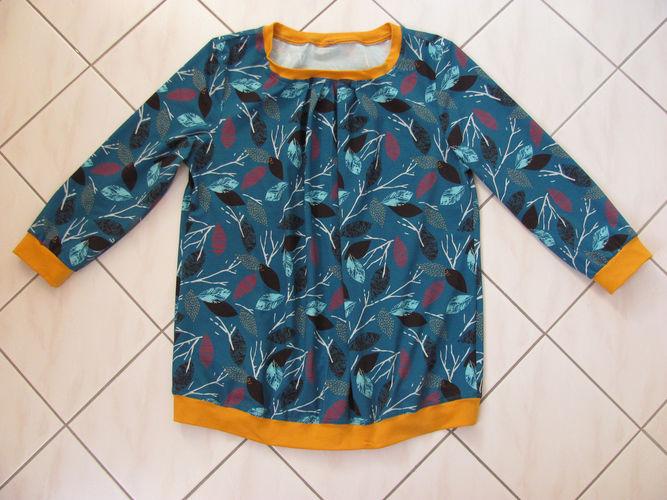 Makerist - Jersey-Shirt mit Falten - Nähprojekte - 1