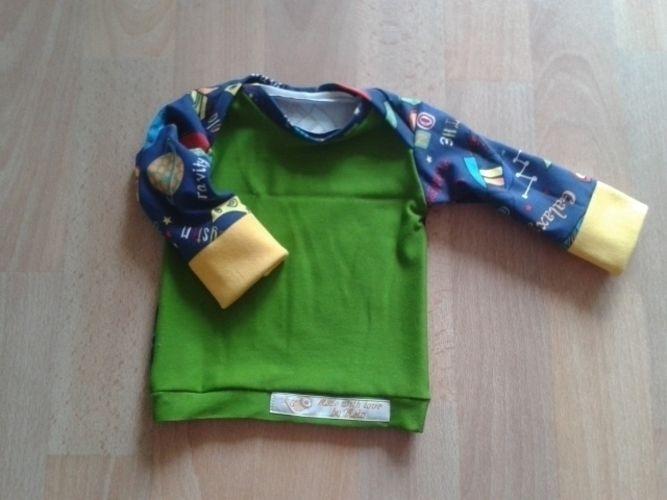 """Makerist - """"Der kleine Astronaut"""" aus Jersey und Bündchenware für meinen Bauchbewohner - Nähprojekte - 2"""