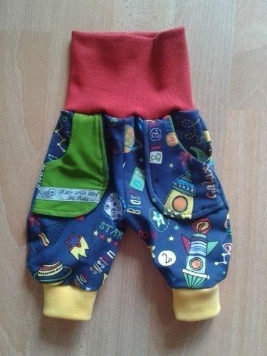 """Makerist - """"Der kleine Astronaut"""" aus Jersey und Bündchenware für meinen Bauchbewohner - Nähprojekte - 3"""