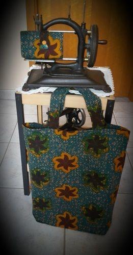 Makerist - Sac de courses pliable - Créations de couture - 2