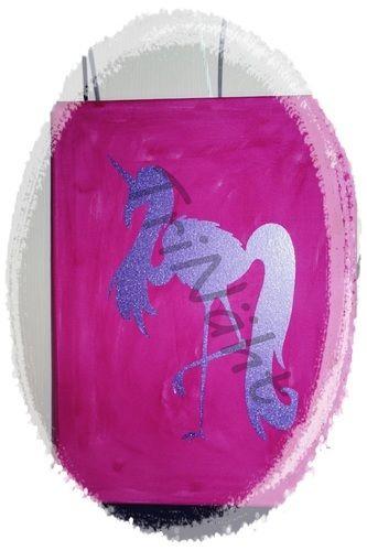 Makerist - b.e.geistert Flamingoeinhorn Plottdatei - Textilgestaltung - 1