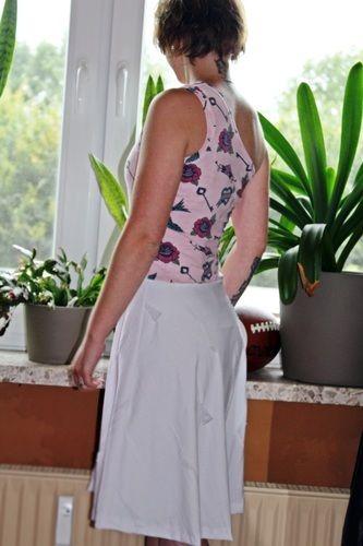Makerist - b.e.One Ladyz * Ein-Trägerkleid mit Tellerrock * XS bis XXL - Nähprojekte - 1