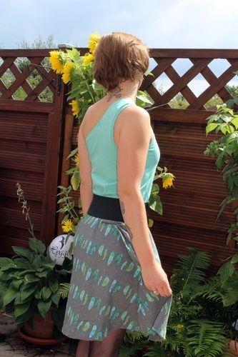 Makerist - b.e.One Ladyz * Ein-Trägerkleid mit Tellerrock * XS bis XXL - Nähprojekte - 2