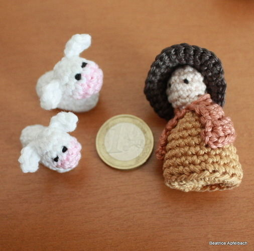 Makerist - Mini Weihnachtskrippe - Häkelprojekte - 3
