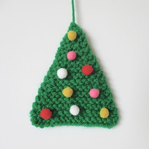 Makerist - Easy Christmas Tree - Knitting Showcase - 1