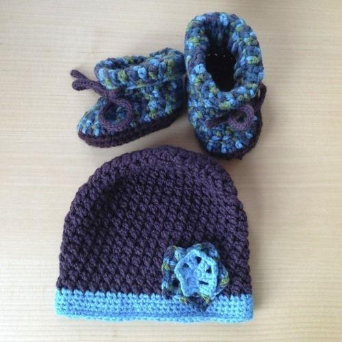 Makerist - Babymütze und -schuhe aus Wolle - Häkelprojekte - 3