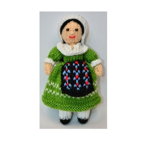 Makerist - Adeline French Folk Doll - DK Wool - Knitting Showcase - 1