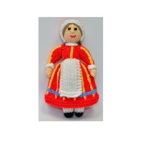Makerist - Bettina Danish Folk Doll - DK Wool - Knitting Showcase - 1