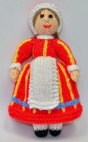 Makerist - Bettina Danish Folk Doll - DK Wool - Knitting Showcase - 3