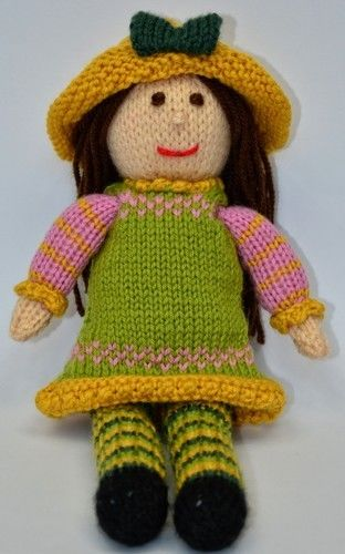 Makerist - Tulip Spring Doll - DK Wool - Knitting Showcase - 3