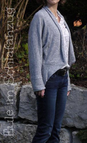 Makerist - Jacke Louise aus Strickstoff - Nähprojekte - 2