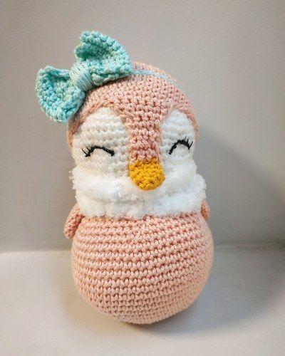 Makerist - Doudou  Pingu pour bébé ou enfant - Créations de crochet - 1