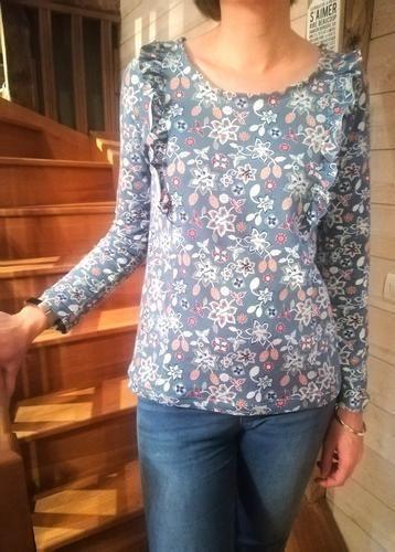 Makerist - t shirt mme sara  - Créations de couture - 1