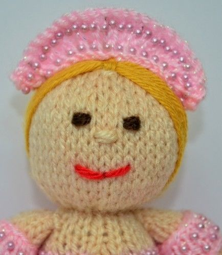 Makerist - Betsy Ballerina Doll - DK Wool - Knitting Showcase - 2