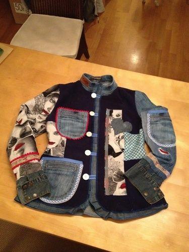 Makerist - Doubleface-Fleece  Recycling Jacke ! Jacky!  - Nähprojekte - 1