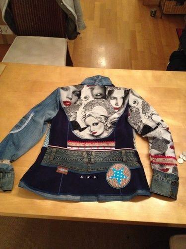 Makerist - Doubleface-Fleece  Recycling Jacke ! Jacky!  - Nähprojekte - 2