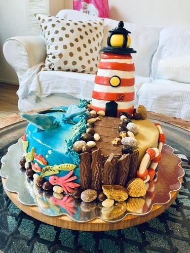 Makerist - Leuchtturmtörtchen - Torten, Cake Pops und Cupcakes - 1