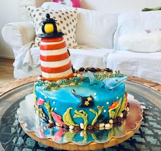 Makerist - Leuchtturmtörtchen - Torten, Cake Pops und Cupcakes - 2