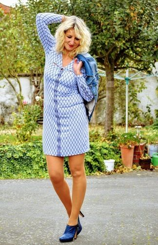Makerist - Das Jerseykleid Lisboa für Damen - Nähprojekte - 1