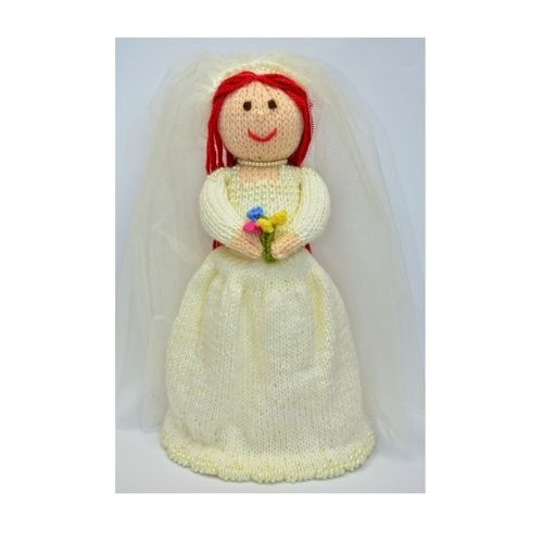 Makerist - Bride Doll Knitting Pattern - DK Wool - Knitting Showcase - 1