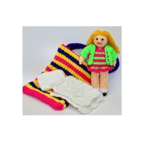 Makerist - Bella in a Bag Rag Doll - DK Wool - Knitting Showcase - 1