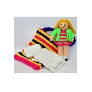 Makerist - Bella in a Bag Rag Doll - DK Wool - 1