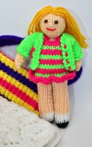 Makerist - Bella in a Bag Rag Doll - DK Wool - Knitting Showcase - 2