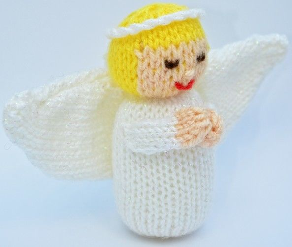 Makerist - Christmas Angel Doll - DK Wool - Knitting Showcase - 3