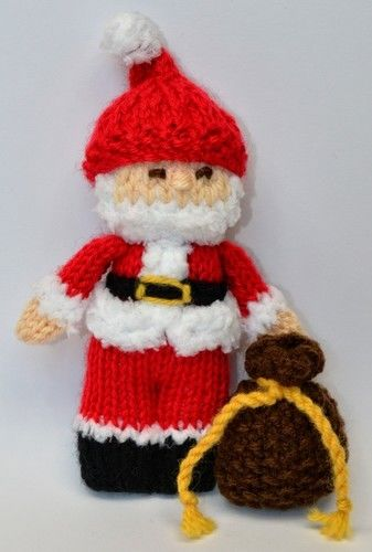 Makerist - Santa Claus Doll - DK Wool - Knitting Showcase - 2