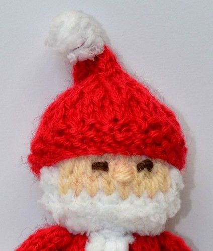 Makerist - Santa Claus Doll - DK Wool - Knitting Showcase - 3