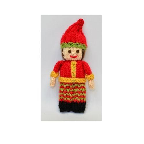 Makerist - Primitive Christmas Elf - DK Wool - Knitting Showcase - 1