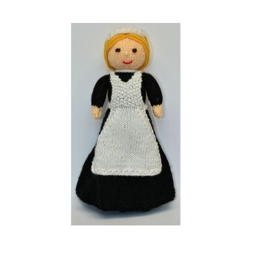 Makerist - Violet - A Lady's Maid Doll - DK Wool - Knitting Showcase - 1
