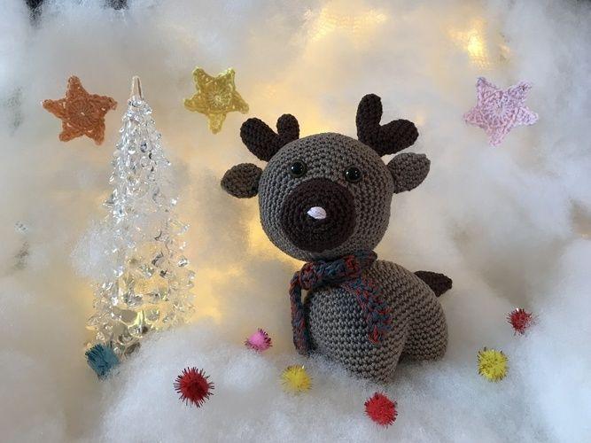 Makerist - Concours Crochet : Gontran le renne, par Audrey - Créations de crochet - 1