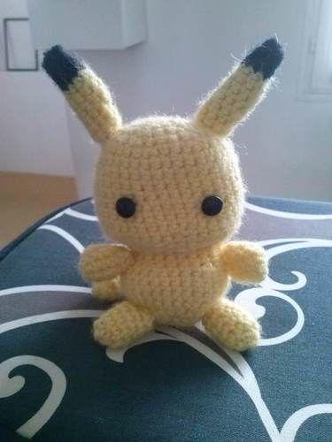 Makerist - Pikachu amigurumi crochet - Créations de crochet - 1