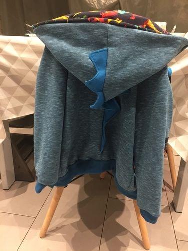 Makerist - Dino-Jacke für den Großen - Nähprojekte - 1