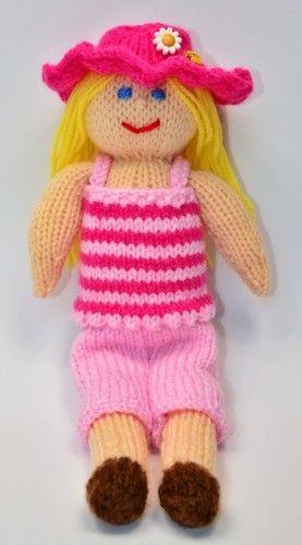 Makerist - Petunia - Summer Doll - DK Wool - Knitting Showcase - 2