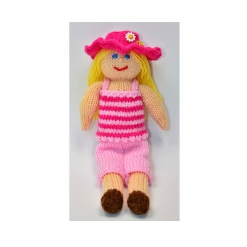 Makerist - Petunia - Summer Doll - DK Wool - Knitting Showcase - 3