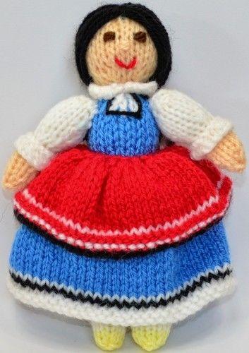 Makerist - Bulgarian Folk Doll - DK Wool - Knitting Showcase - 3