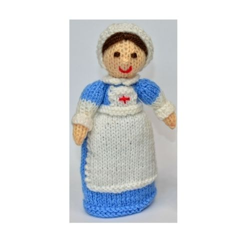 Makerist - WWI Red Cross Nurse - DK Wool - Knitting Showcase - 1