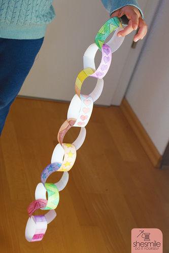 Makerist - Alle Kinder lieben Papier-Kringel-Ketten - DIY-Projekte - 1