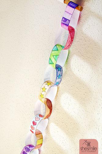 Makerist - Alle Kinder lieben Papier-Kringel-Ketten - DIY-Projekte - 3