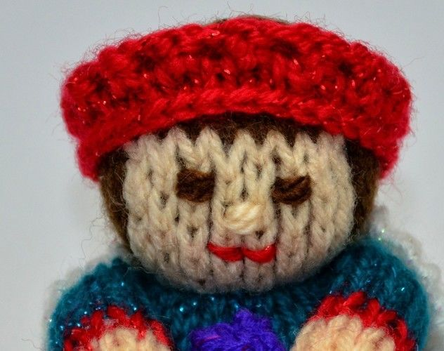 Makerist - Nativity King Doll - DK Wool - Knitting Showcase - 2