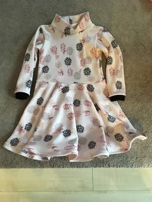 Makerist - Winterwunder Kinderkleid  - 1